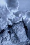 Kasteel op de berg Royalty-vrije Stock Fotografie