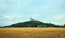Kasteel op de heuvel - Kuneticka-hora Stock Fotografie