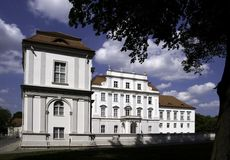 Kasteel oranienburg stock fotografie