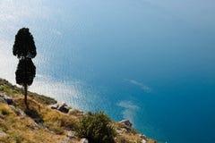 Kasteel Palamidi, Nafplio, Griekenland Stock Foto's