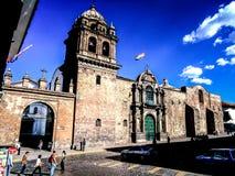 Kasteel in Peru Stock Foto's