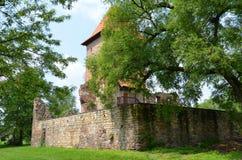 Kasteel in Polen (Chudà ³ w) Royalty-vrije Stock Foto