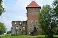 Kasteel in Polen (Chudow) Royalty-vrije Stock Afbeelding
