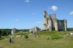 Kasteel in Polen (Mirà ³ w) Royalty-vrije Stock Foto's