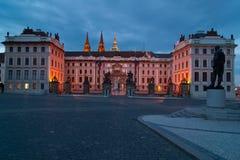 Kasteel in Prag Royalty-vrije Stock Fotografie