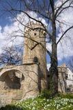 Kasteel Pulverturm Jena Royalty-vrije Stock Afbeelding