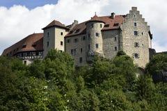 Kasteel Rabenstein, Beieren, Zuid-Duitsland Stock Foto's