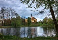Kasteel Radun - Tsjechische Republiek Stock Foto