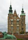 Kasteel Rosenborg in Kopenhagen Stock Foto's
