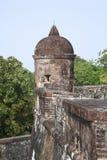 Kasteel San Fernando DE Omoa stock foto