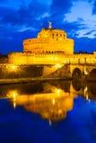 Kasteel Sant Angelo, Rome Stock Foto