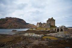 Kasteel in Schotland Stock Foto