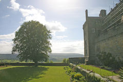 Kasteel in Schotland royalty-vrije stock foto's