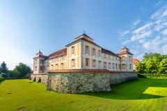 Kasteel in Slovenska Bistrica, Slovenië Stock Foto