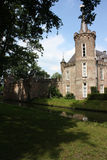 Kasteel (St. Oederode) en zijn omgeving in Nederland Stock Foto's