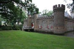 Kasteel (St. Oederode) en zijn omgeving in Nederland Royalty-vrije Stock Foto