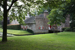 Kasteel (St. Oederode) en zijn omgeving in Nederland Royalty-vrije Stock Fotografie