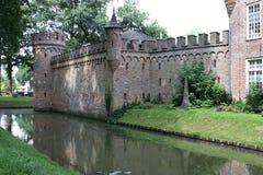 Kasteel (St. Oederode) en zijn omgeving in Nederland Royalty-vrije Stock Foto's