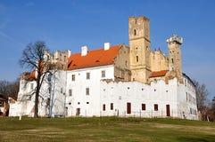Kasteel, stad Breclav, Tsjechische Republiek, Europa royalty-vrije stock afbeeldingen