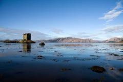 Kasteel Stalker, Argyll, Schotland Stock Foto