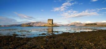 Kasteel Stalker, Argyll, Schotland, Hoge Resolutie Stock Fotografie