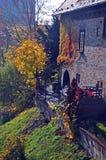 Kasteel Sternberk in de herfst zon-2, Tsjechische Republiek stock afbeelding
