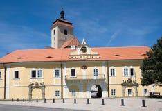 Kasteel Strakonice, Tsjechische Republiek Royalty-vrije Stock Afbeeldingen