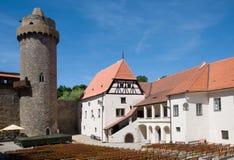 Kasteel Strakonice, Tsjechische Republiek Stock Afbeelding