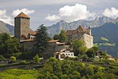 Kasteel Tirol Stock Afbeeldingen