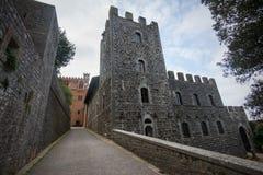 Kasteel in Toscanië Stock Afbeeldingen