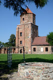 Kasteel Toszek in Polen Stock Foto's