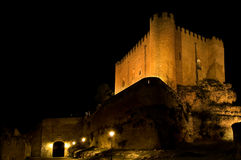 Kasteel van Alarcon. Cuenca. Spanje Royalty-vrije Stock Foto