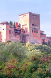 Kasteel van Alhambra Royalty-vrije Stock Foto