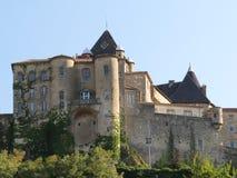 Kasteel van Aubenas, Ardeche, de Provence, Frankrijk Stock Afbeelding