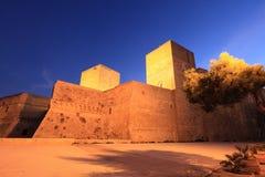 Kasteel van Bari, Italië stock afbeeldingen