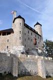 Kasteel van Bobolice, Polen Royalty-vrije Stock Fotografie