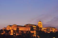 Kasteel van Boedapest Stock Fotografie