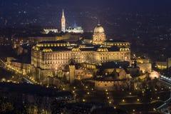 Kasteel van Boedapest Royalty-vrije Stock Afbeeldingen