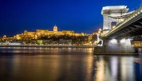 Kasteel van Boedapest Stock Afbeelding