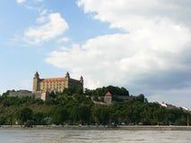 Kasteel van Bratislava Royalty-vrije Stock Afbeelding