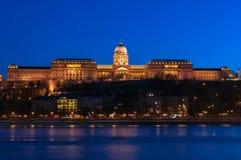 Kasteel van Buda in Budapes Royalty-vrije Stock Fotografie