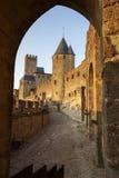 Kasteel van Carcassonne Royalty-vrije Stock Afbeelding
