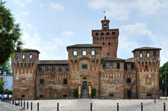 Kasteel van Cento. Emilia-Romagna. Italië. Stock Foto's