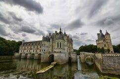 Kasteel van Chenonceau, de Loire-gebied, Frankrijk 27 juni, de momentopname van 2017 Royalty-vrije Stock Foto