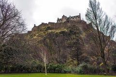 Kasteel van Edinburgh Royalty-vrije Stock Afbeeldingen