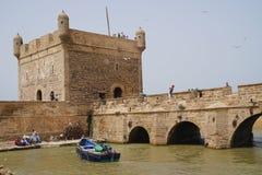 Kasteel van Essaouira royalty-vrije stock foto