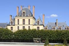 Kasteel van Fontainebleau Royalty-vrije Stock Foto