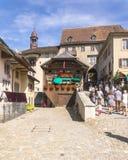 Kasteel van Gruyère Royalty-vrije Stock Foto's