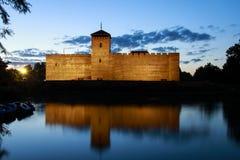 Kasteel van Gyula in Zuidelijk Hongarije Royalty-vrije Stock Afbeeldingen
