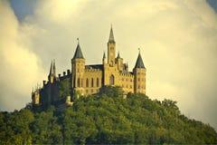 Kasteel van Hohenzollern, Zuid-Duitsland Royalty-vrije Stock Foto's